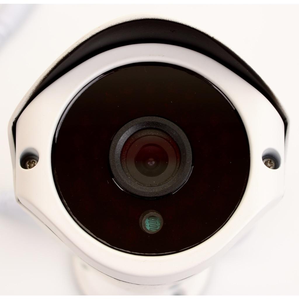 1000 TVL Dome Kamera + Aparatlar