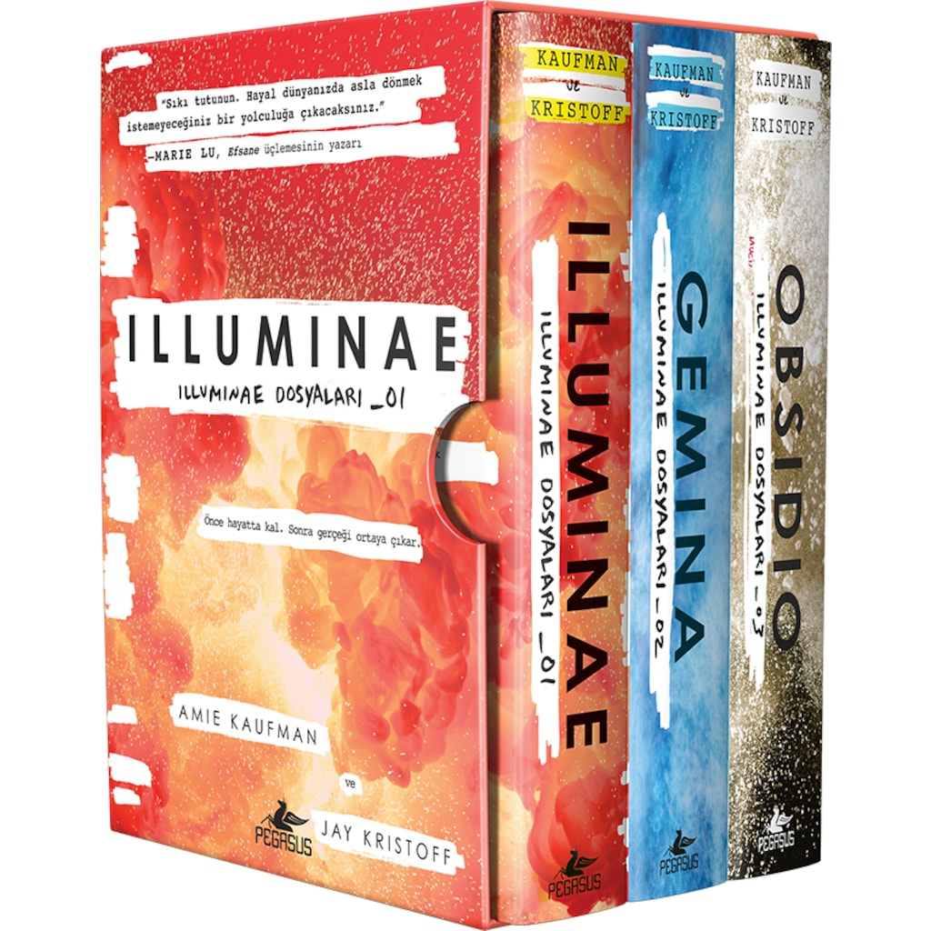 İlluminae Dosyaları Serisi Kutulu Özel Set (3 Kitap) Ekitap İndir   PDF   ePub   Mobi