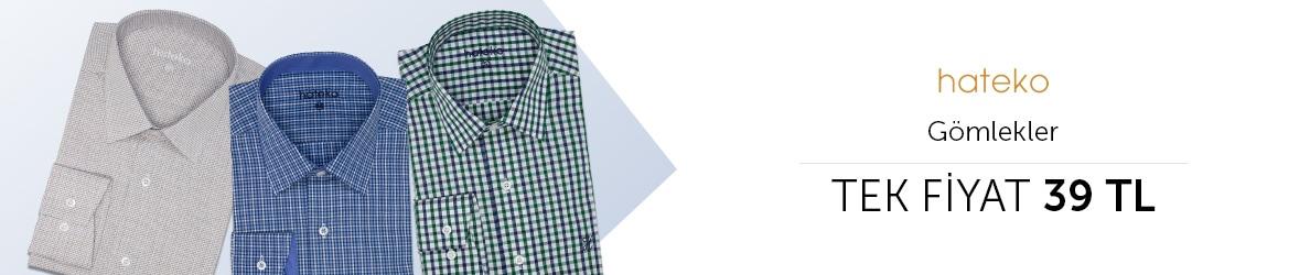 Hateko Gömlekler Tek Fiyat 39 TL