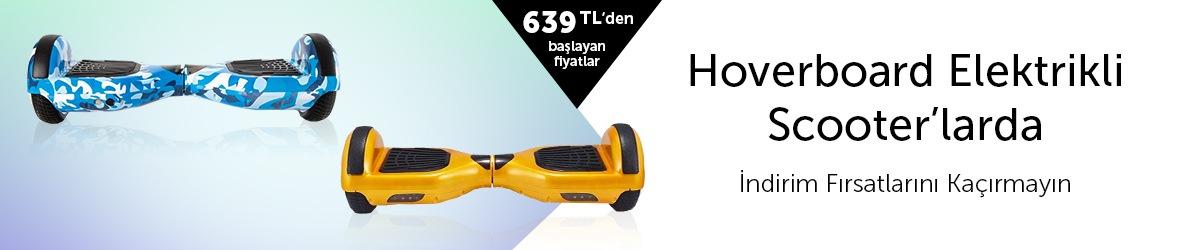 Hoverboard ve Elektrikli Scooterlarda İndirim Fırsatları