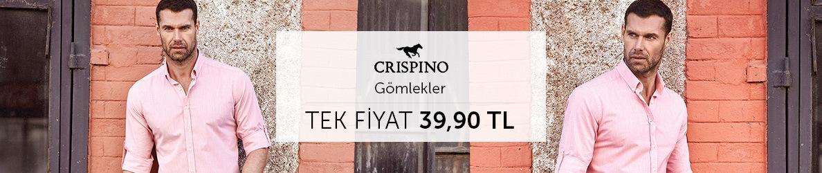 Crispino Gömlekler Tek Fiyat 39,90 TL