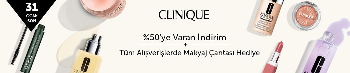 CLINIQUE- %50'ye Varan İndirim