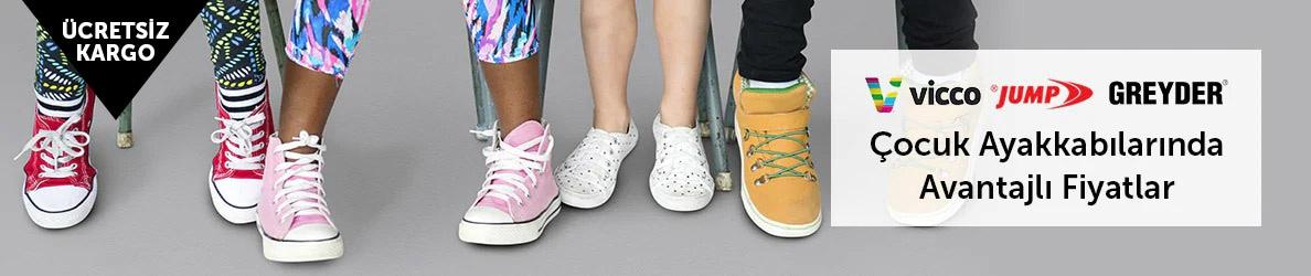 Çocuk Ayakkabılarında Avantajlı Fiyatlar