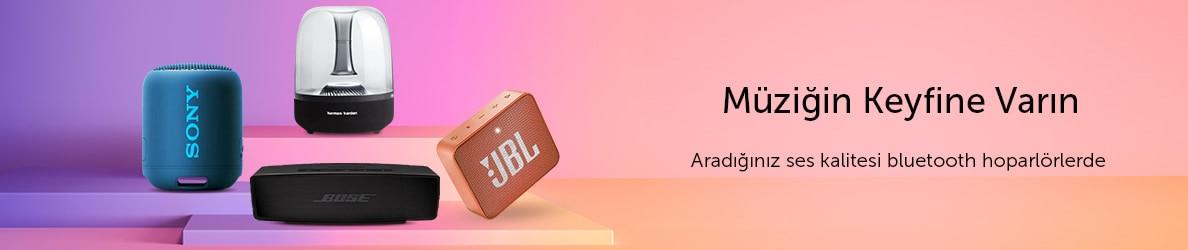 Bluetooth Hoparlörler ile Müzik Hep Sizinle