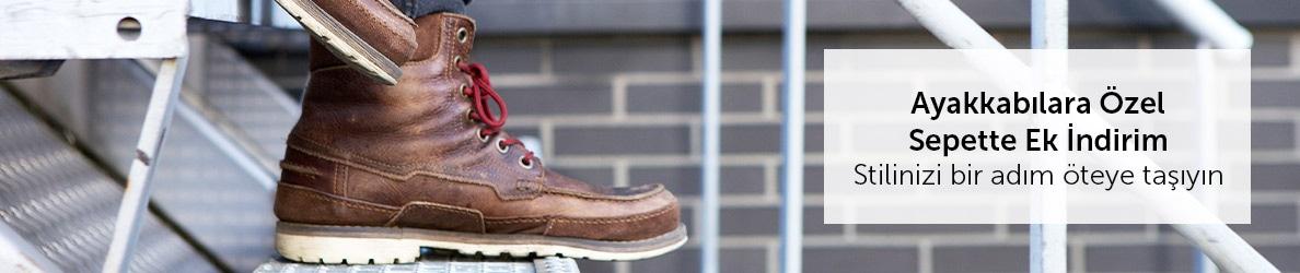 Ayakkabılara Özel Sepette Ek İndirimler