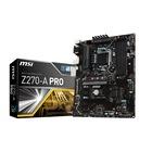 MSI Z270-A PRO DDR4 VGA DVI DP GLAN SATA 6GB/S M2 USB3.1 ATX MB