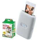 instax mini Link Beyaz Akıllı Telefon Yazıcısı ve 20'li mini Film