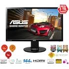 """Asus VG248QE 24"""" 144hz 1ms 3D Full HD LED Oyuncu Monitörü"""