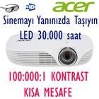 Acer K138ST LED 30.000 saat 100.000:1 Kontrast DLP Projeksiyon