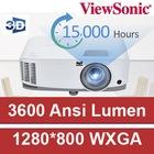 VIEWSONIC PA503W 3600 ANSI LUMEN WXGA 1280*800 DLP 3D PROJEKSİYON