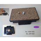 PDX-501 PLATE PDX 501 PLATE PDX 501 Tripod için PLATE