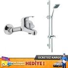 Artema PUNTO İdeo Banyo Bataryası + Bidalux Sürgülü Duş Seti