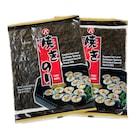 Yaki Nori Sushi Yosunu 2'li 20 (10x2) Yaprak