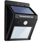 Solar Led Lamba Güneş Enerjili 20 Led Şarjlı Dış Mekan Işık