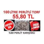 100 litre Torf Perlit Karışımı Perlitli Torf Toprak Çiçek Toprağı