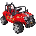Pilsan Ranger 12V Akülü Araba - Kırmızı