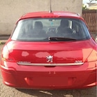 Peugeot 308 Formlu Krom Bagaj Alt Çıta 2007-2013 Arası