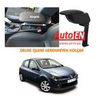 Renault Clio 3 2006-2011 Siyah Kolçak Kol Dayama Delme Yok AutoEN