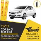 İNWELLS Opel Corsa D 2006 - 2014 Ön Muz Silecek Takımı