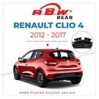 RBW Renault Clio 4 2012 - 2017 Arka Silecek