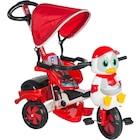 Baby Poufi Penguen 3 Tekerli Çocuk Bisikleti Emniyet Kemerli