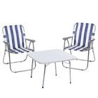Kamp Seti + 2 Kamp Sandalyesi Bahçe Sandalyesi 2090