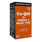 Zade Vital Koenzim Q10+Omega 3 Blister 30 Kapsül