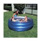 POMPALI- Bestway 51042, Büyük 3 Boğum, Metalik Şişme Çocuk Havuzu