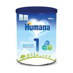 Humana 1 Metal Kutu Bebek Sütü 0+ Ay 800 G