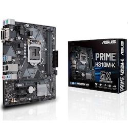 Asus Prime H310M-K H310 DDR4 Vga Glan mATX Dvi Usb3.1 1151P