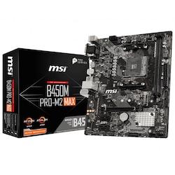 Msi B450M PRO-M2 MAX AMD B450 4133 MHz (OC) DDR4 Soket AM4 mATX Anakart