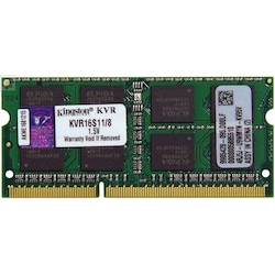 Kingston KVR16S11/8 8 GB DDR3 SODIMM 1600 MHz Notebook Bellek