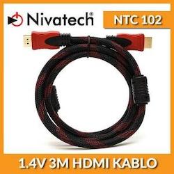 NİVATECH NTC 102 1.4V 3 METRE HDMİ KABLO