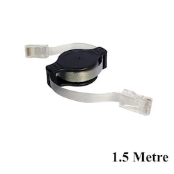RJ45 Şerit Ethernet Kablosu Çek Bırak - 1.5Metre