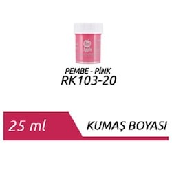 Red Apple Kumaş Boyası 25 ml. Pembe