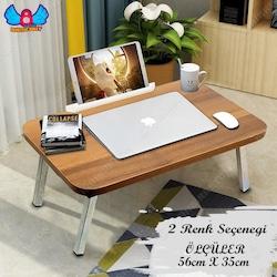 Katlanır Laptop Masası Çalışma Masası Tablet Standlı BB031