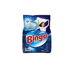 Bingo Matik Toz Çamaşır Deterjanı Ultra Beyaz 26 Yıkama 4 KG