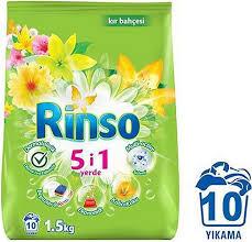 Rinso Kır Bahçesi Toz Çamaşır Deterjanı 10 Yıkama 2 x 1500 G