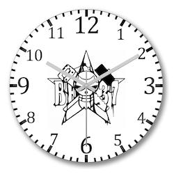 Franky - One Piece Duvar Saati Bombeli Gercek Cam