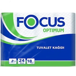 Focus Optimum Çift Katlı Tuvalet Kağıdı 24 Rulo