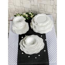 Premium Porselen Alya Yemek Takımı, Seti