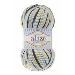 Alize Happy Baby Multicolor El Örgü İpi 52229