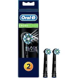 Oral-B CrossAction Black Yedek Başlık 2'li