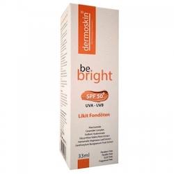 Dermoskin Be Bright Spf 50 Likit Fondöten 33 ml