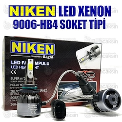 Niken Evo Led Xenon Zenon Hb4 - 9006 6500K-Şimşek Etkili