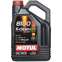 Motul 8100 X-Clean Efe 5w30 4 Lt %100 Sentetik Partiküllü