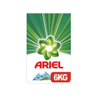 Ariel Toz Çamaşır Deterjanı Dağ Esintisi 40 Yıkama 2 x 6 KG
