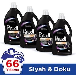 Perwoll Siyahlar İçin Sıvı Çamaşır Deterjanı 66 Yıkama 4 x 4 L