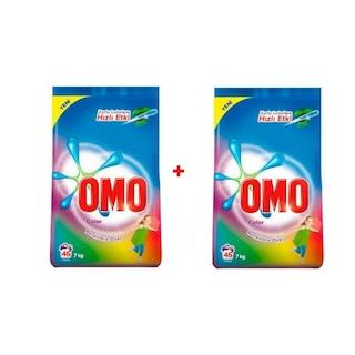 Omo Matik Renklilere Özel Color Toz Deterjan 2 x 7 KG