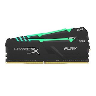 Kingston HyperX Fury RGB HX432C16FB3AK2/16 16 GB (2x8) DDR4 3200 MHz CL16 Ram